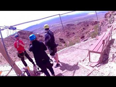 Flightlinez Bootleg Canyon 1st Zip Line!