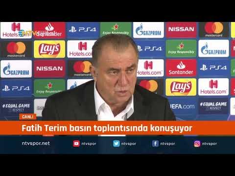 #CANLIYAYIN - Fatih Terim, Real Madrid maçı sonrası açıklamalarda bulunuyor
