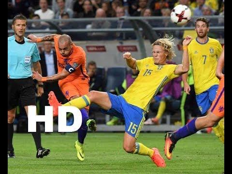 Belanda vs Swedia 2-0 Kualifikasi Piala Dunia 2018 [Versi HD]