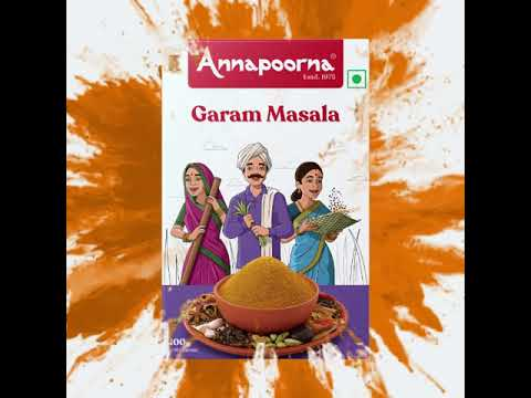 Annapoorna Garam Masala - Unveiling the new packaging