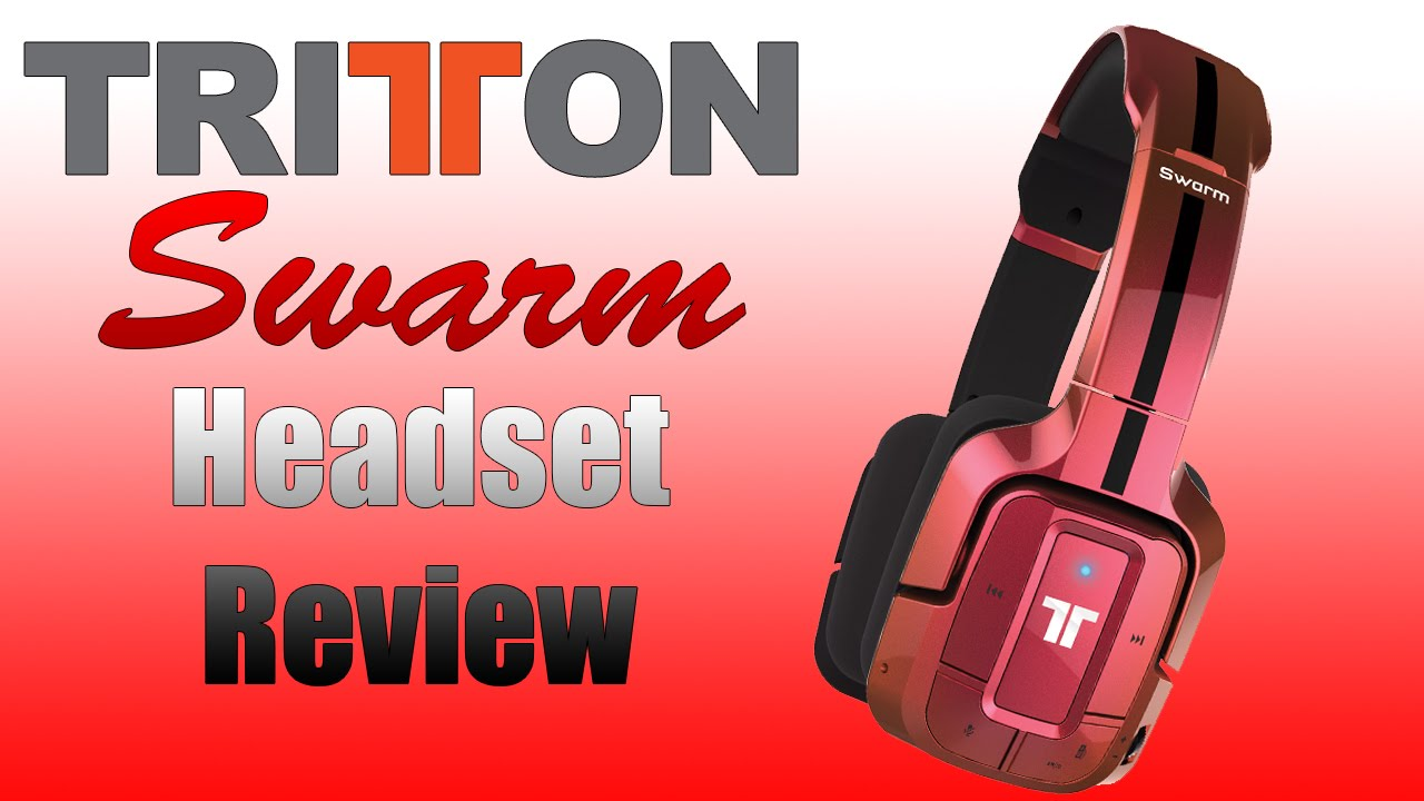 9b0c6c30761 Tritton Swarm Wireless 3D Bluetooth Headset - Review - Mic test ...