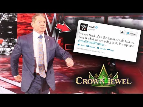 You'll Never Believe WWE'S TERRIBLE SOLUTION For The Crown Jewel Problem - WWE