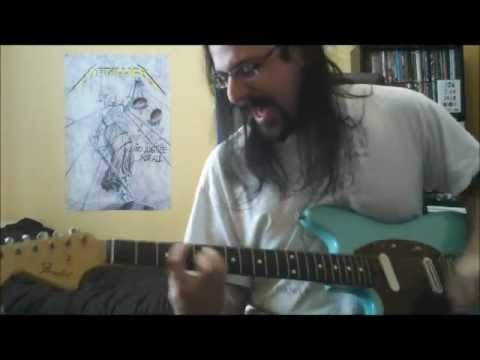 Nirvana - Even In His Youth - Vocals /Guitar cover - Full HD