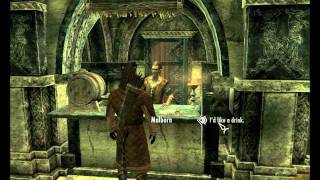 Skyrim - Thalmor Embassy - Diplomatic Immunity  Walkthrough 1080p
