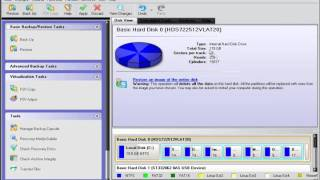 Paragon Backup and Recovery of your Operating System.
