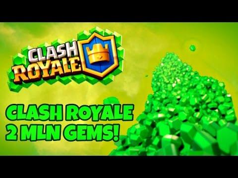 Clash Royale Polska -  2 MILION GEMS !!