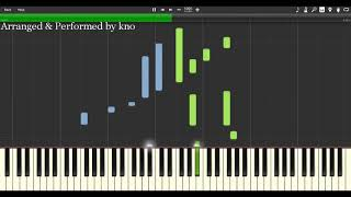 """Winnie the Pooh Theme Song (Piano Tutorial) from my """"New Disney Piano Collection""""(Covered by kno)"""