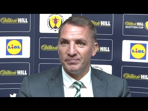 Celtic 2-0 motherwell - brendan rodgers full post match press conference - scottish cup final