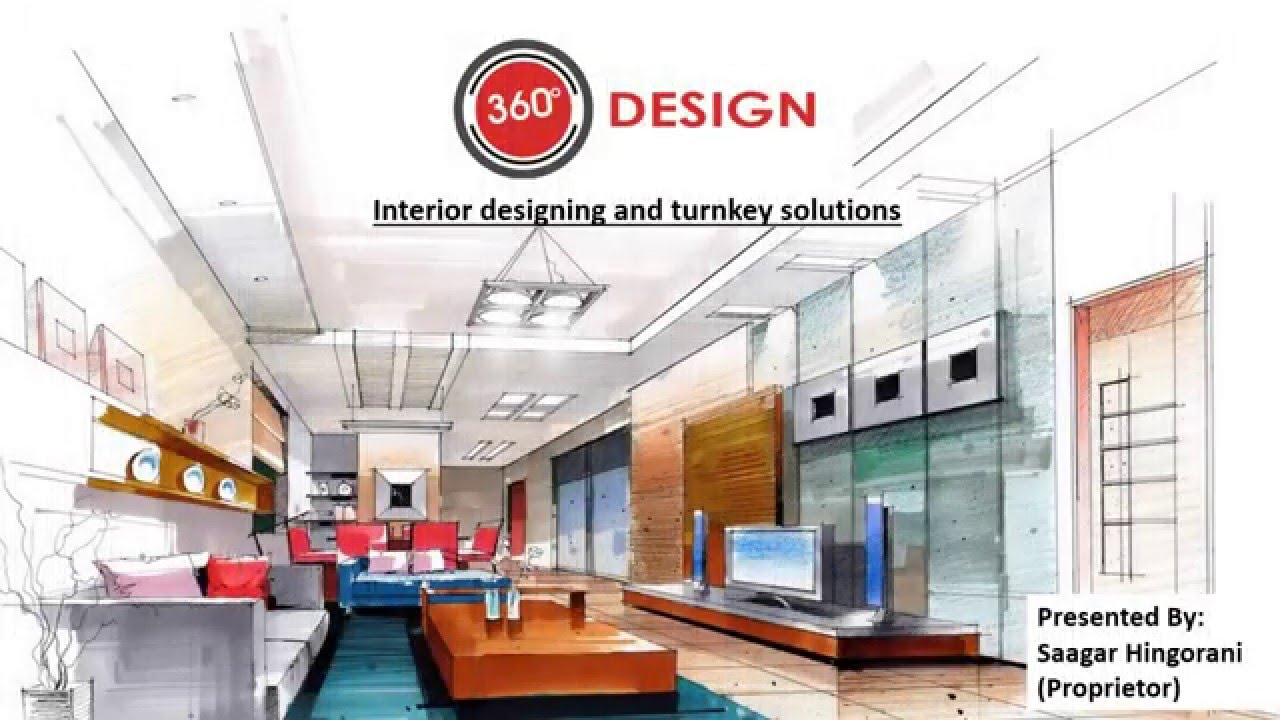 360 degree design company profile youtube for Interior design company list