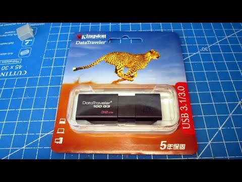 Отличная USB 3.0 флешка Kingston DT100G3