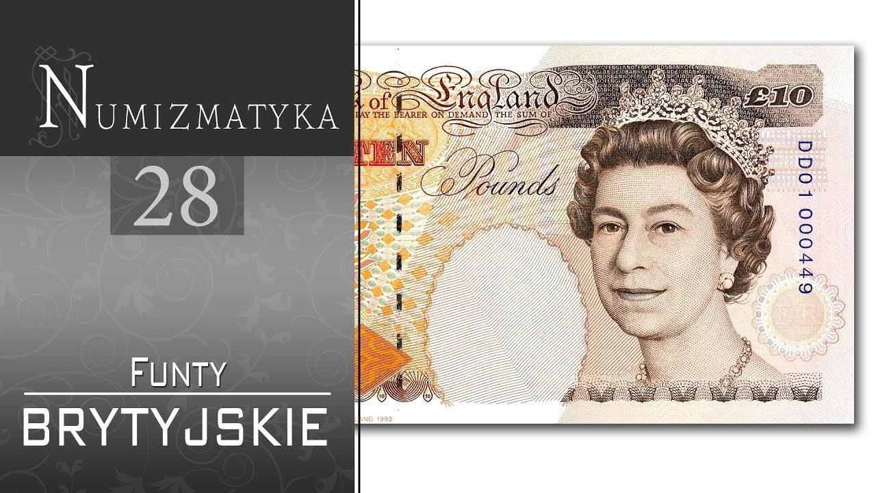 Funty brytyjskie – Numizmatyka cz. 28