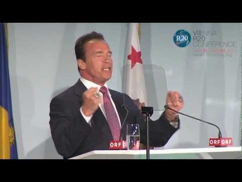 Keynote Speech Arnold Schwarzenegger, Vienna R20 Conference 2013