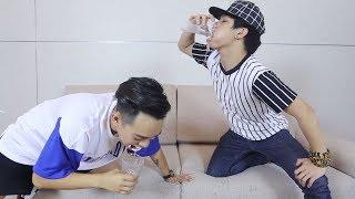 Uống nước kiểu mới - Phở Đặc Biệt | Drink water open super funny mouth