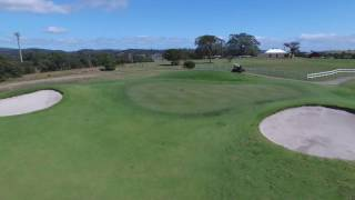 Flyover 5th Hole @ The Links Shell Cove