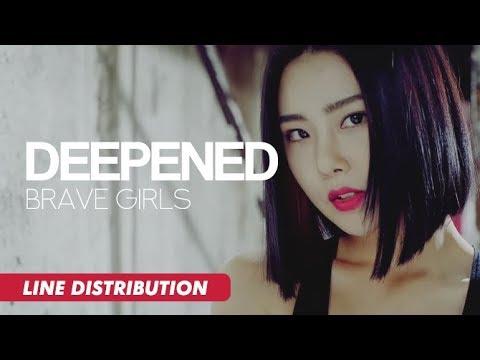 Brave Girls (브레이브걸스) - Deepened (변했어) | Line Distribution