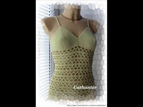 How To Crochet Summer Top Free Pattern Youtube