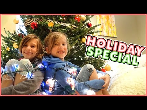 🎄SMELLY BELLY TV CHRISTMAS SPECIAL 🎄DECORATING THE CHRISTMAS TREE 🎄FAMILY VLOG 🎄