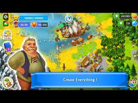 WORLDS Builder: Farm & Craft Android Gameplay
