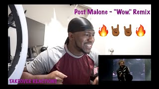 """Post Malone - """"Wow."""" Remix feat. Roddy Ricch & Tyga (Official Video) REACTION"""