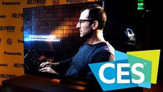 Panasonic GZ2000 OLED  - Hollywood Colourist Interview | CES 2019