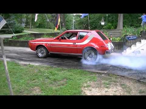 High 11 sec V8 Gremlin Burnout