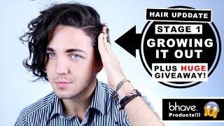 Hair Update | Stage 1 Growing My Hair Out - Men