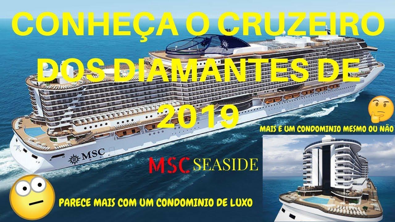 19c644ee7 Cruzeiro Dos Diamantes 2019 MSC Seaside / Grupo Hinode / Conheça o Cruzeiro