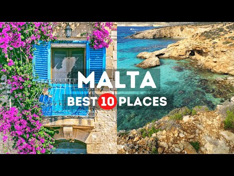 Amazing Places to Visit in Malta - Travel Video