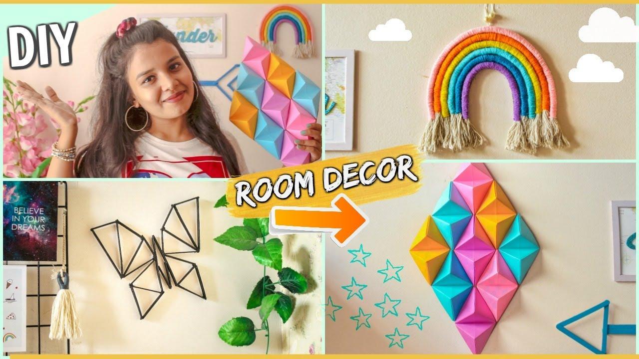 Cute Diy Room Decor Ideas Under 100 Unique Popular Budget Decorations At Home Youtube