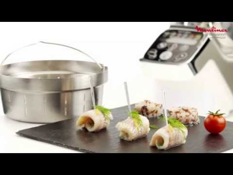 recette-roulades-de-poisson-blanc-vapeur-avec-cuisine-companion-de-moulinex