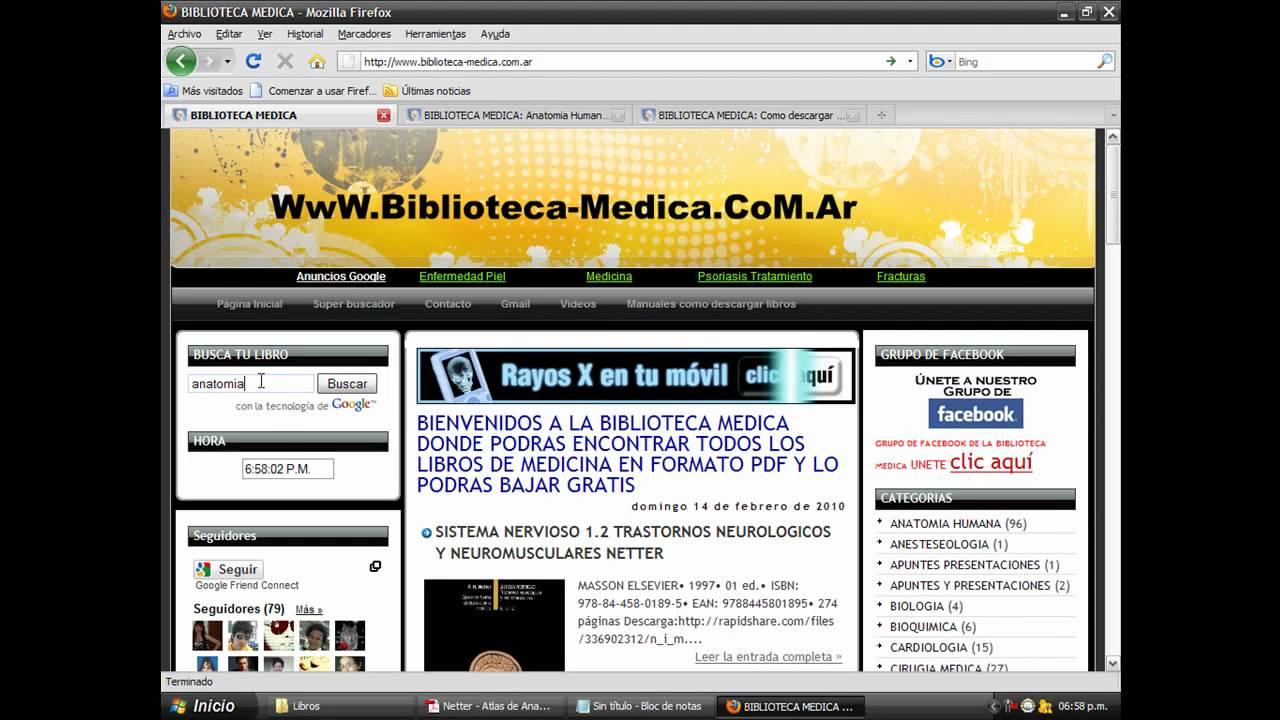 libros de medicina pdf gratis para bajar www.biblioteca-medica.com ...