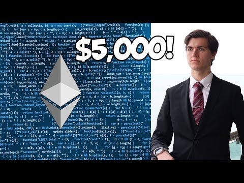 ETHEREUM'S GOING TO HIT $5,000!!!! (2018 PREDICTION)