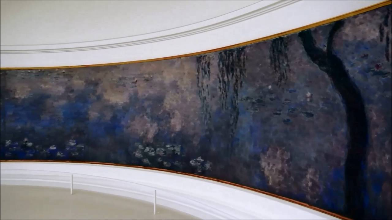 Monet S Water Lilies At Musee L Orangerie Youtube