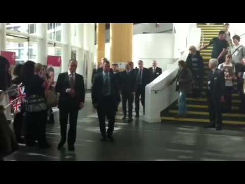 Prince Edward visits South Cheshire College in Crewe