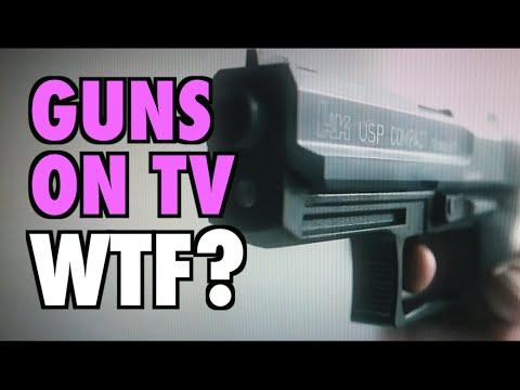 Guns on TV: WTF?