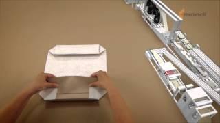 Production de sacs en papier Mondi