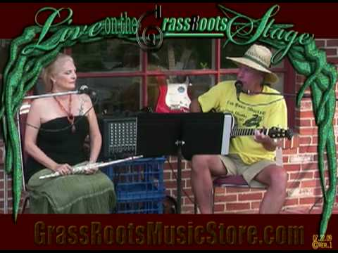 Live on the GrassRoots Stage - Steve Ennis & Geri Rizzo