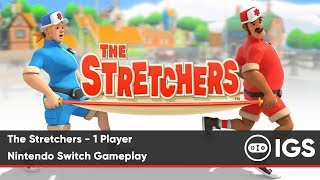 The Stretchers - 1 Player | Nintendo Switch Gameplay