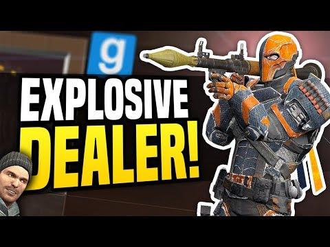 EXPLOSIVE DEALER - Gmod DarkRP | Selling RPG & Grenade Launchers!