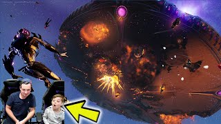Watching The Full Fortnite Live Event With My 8 Year Old Kid Freddie! Our Reaction To The NEW Event