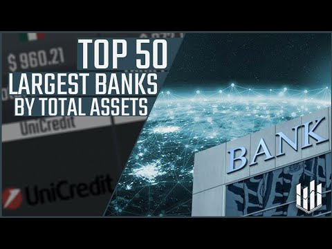 TOP 50 Largest Banks By Total Assets
