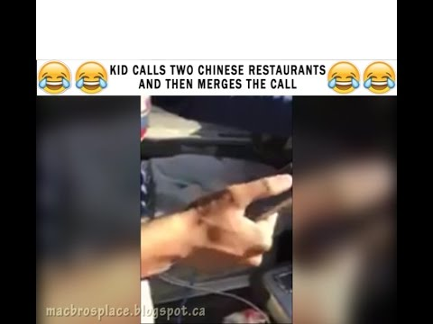Double Chinese Food Prank Call