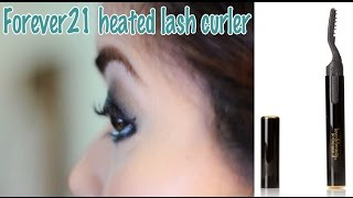 FIRST IMPRESSION REVIEW: Forever21 heated lash curler