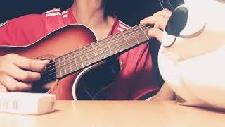 [Guitar cover] Em có đợi tin nhắn tôi không....♫..