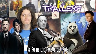 TRAILERS: Animales Fantásticos, La Era de Hielo, House of Cards, Twin Peak... 22 de Dic. '15