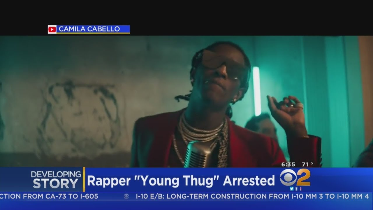 Rapper Young Thug Arrested In Weapons Investigation