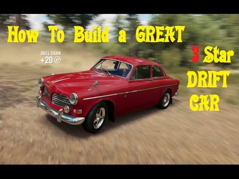 How to build a great 3 star drift car volvo amazon forza for Star motor cars volvo