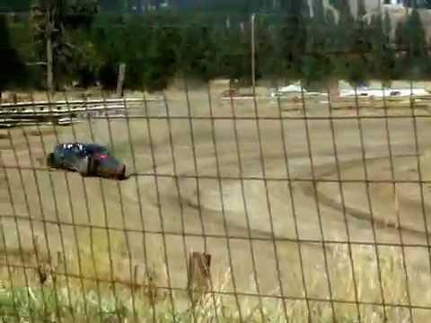 Eagle Track Raceway Dean Hegal Jr Time In Sept 20th 2014