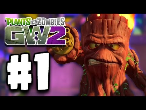 Plants Vs Zombies: Garden Warfare 2 Part 1 - MEET GRUMPY STUMPY! (PvZ GW 2 Ep 1 PC)