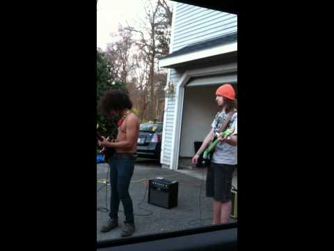 WTF, is that Slash Playing Guitar in My Backyard?